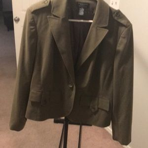 Worthington Olive Green Blazer
